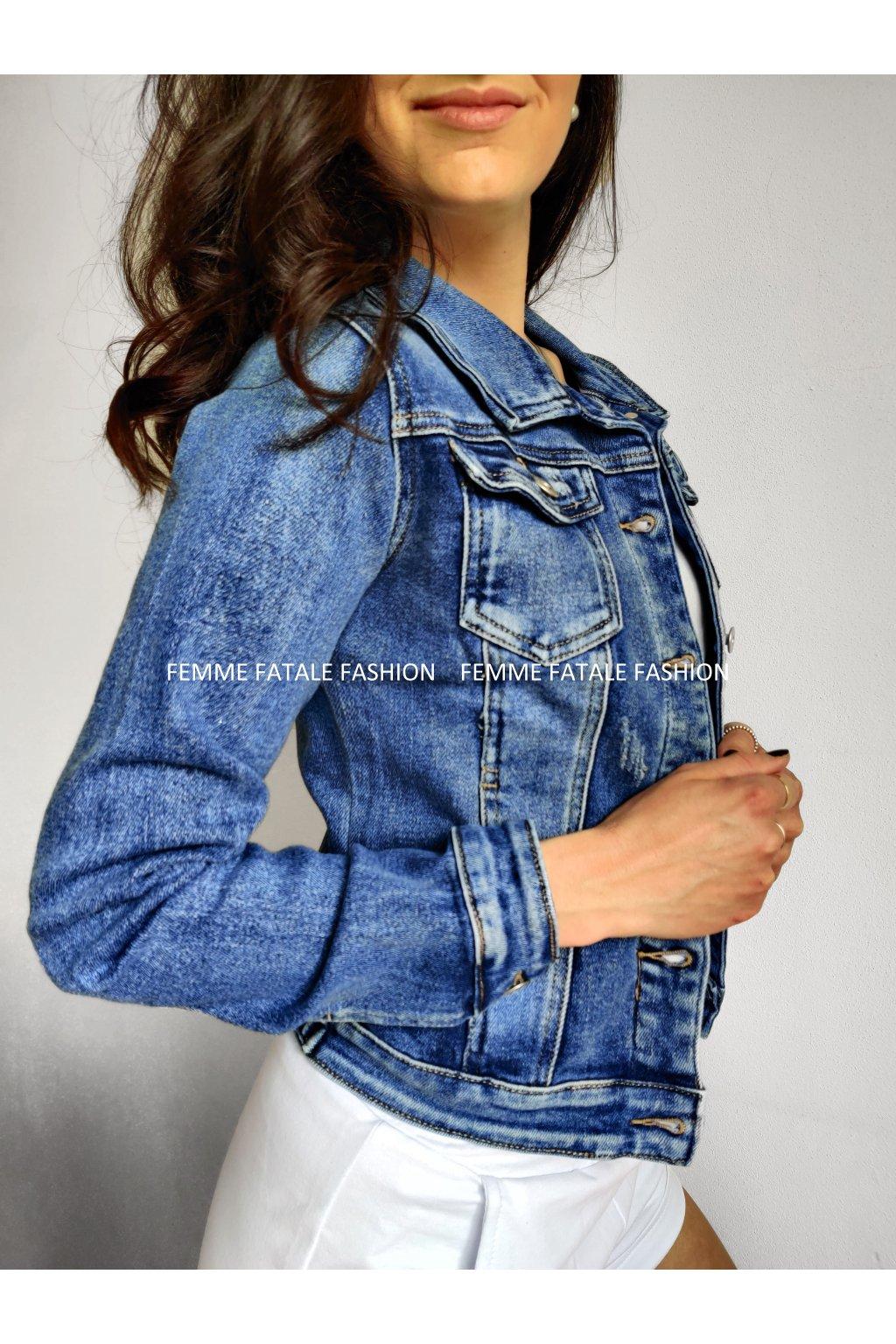 Dámská džínová bunda BASIC 2