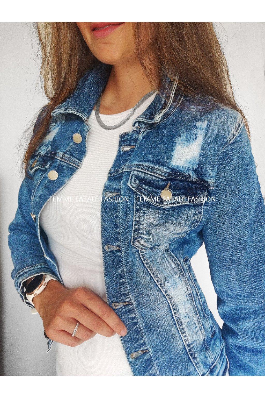 Dámská džínová bunda STREET