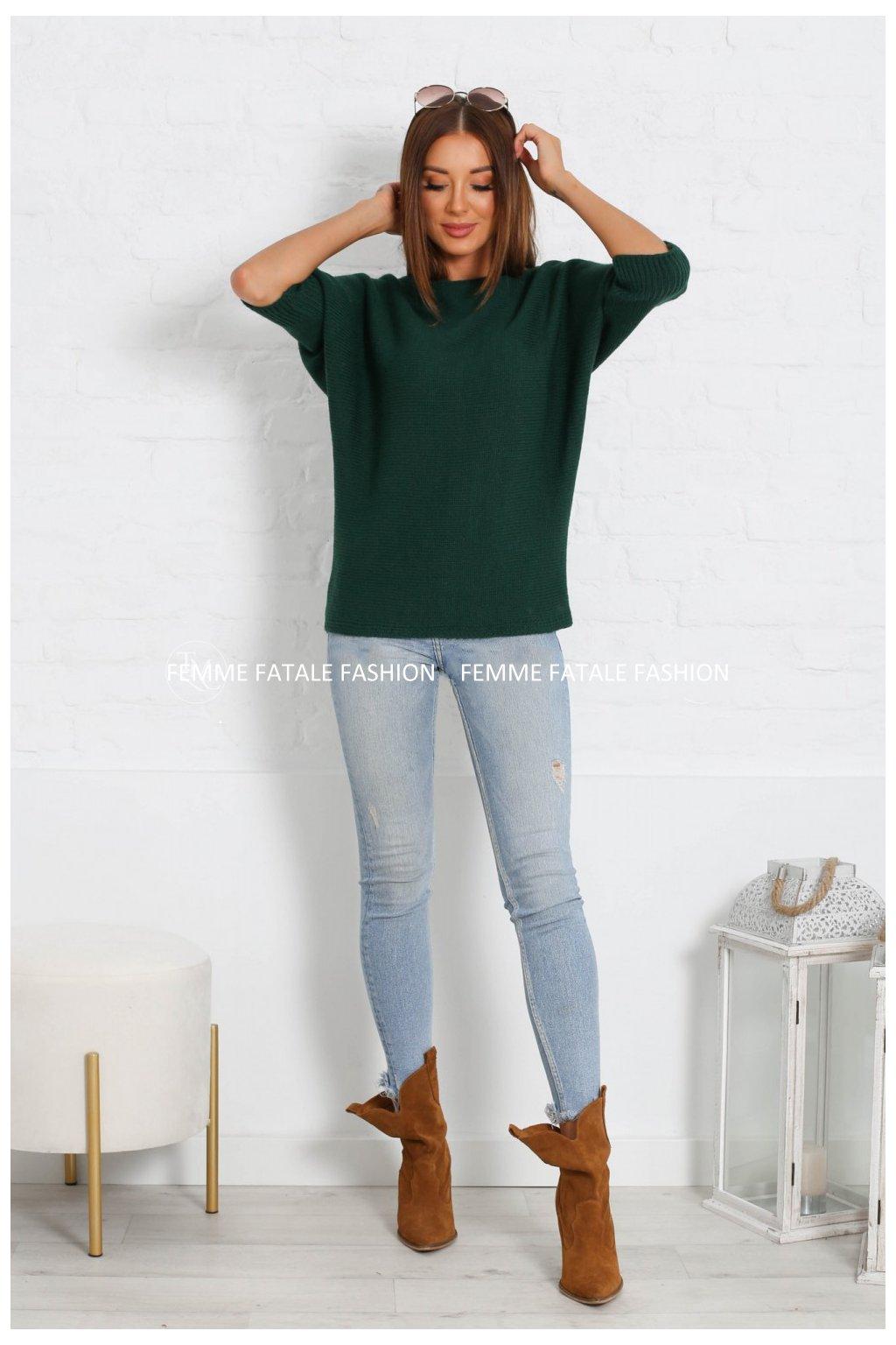 Dámský svetr IRIS femmefatalefashion (9)