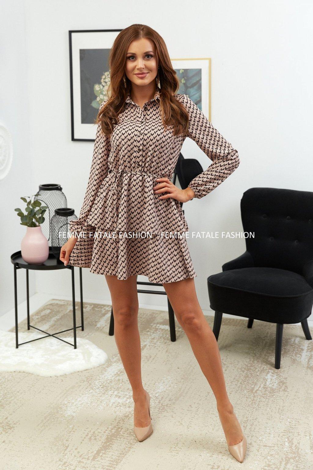 Dámské šaty LONA femmefatalefashion (7)