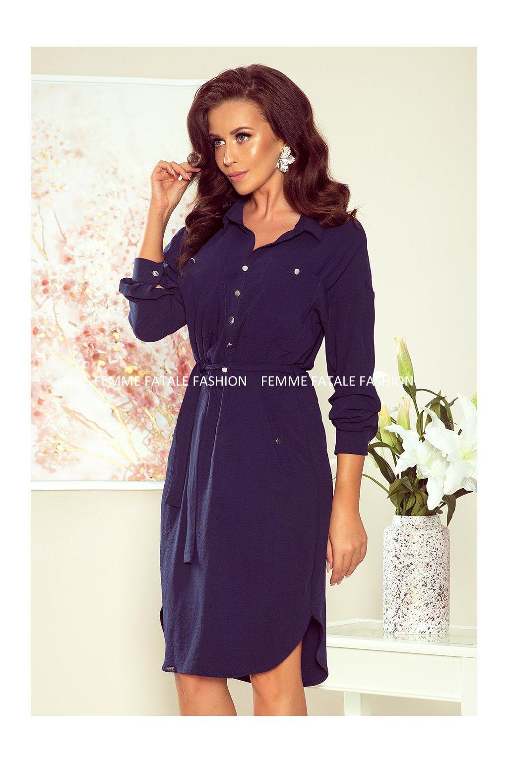 Dámské košilové šaty BROOKE femmefatalefashion (1)