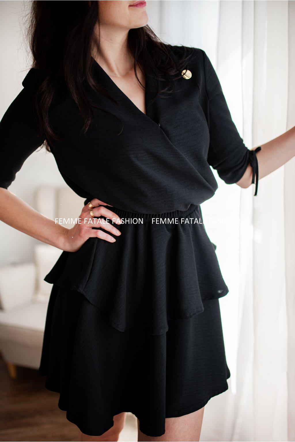 Dámské volánové šaty AMANDA