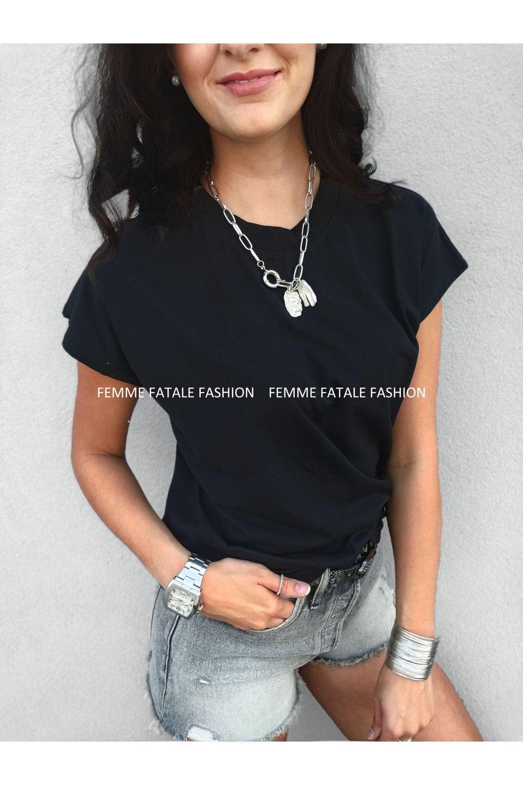 Tričko BASIC femmefatalefashion.cz