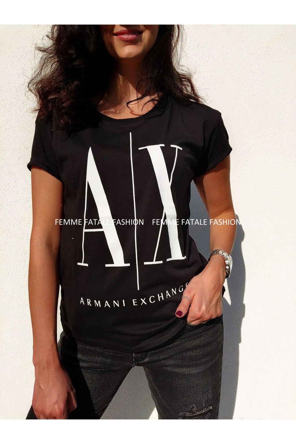 Dámské tričko Armani Exchange femmefatalefashion.cz (2)
