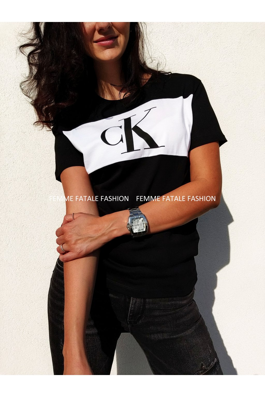 Tričko Calvin Klein Jeans Women T Shirt femmefatalefashion.cz