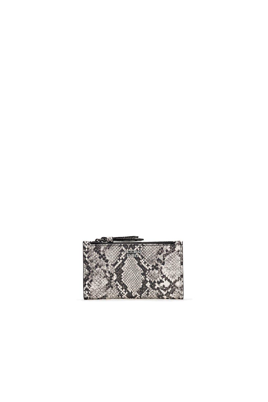 Dámská mini peněženka Victoria´s Secret Python Small Slim Bifold Wallet