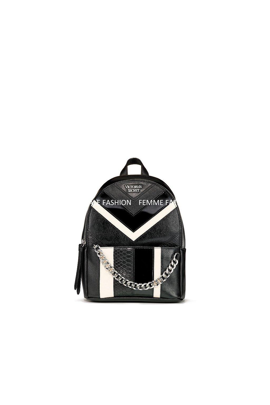 Dámský batoh Victoria's Secret Mixed Chevron Small City Backpack