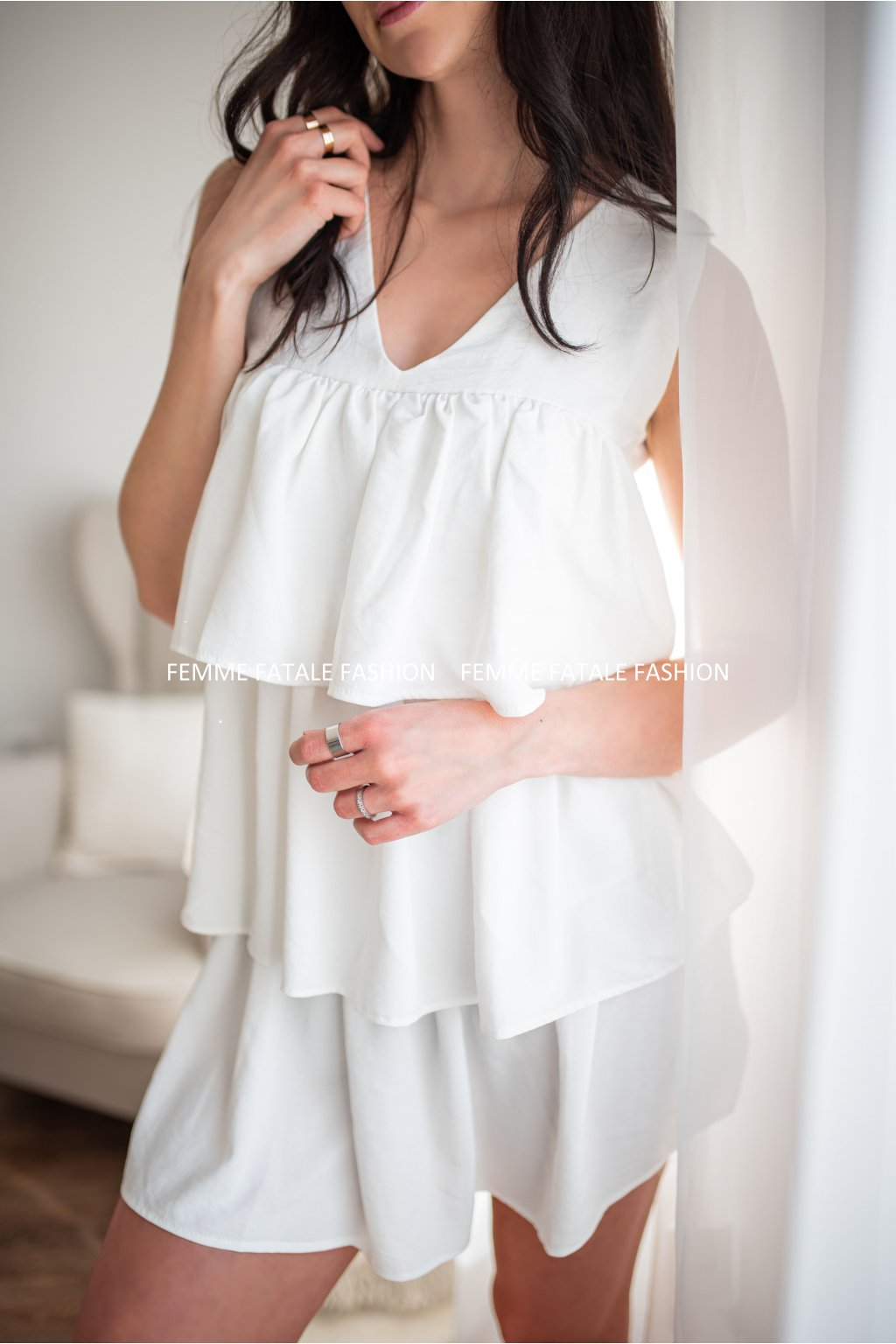 Dámské letní volánové šaty MIJA