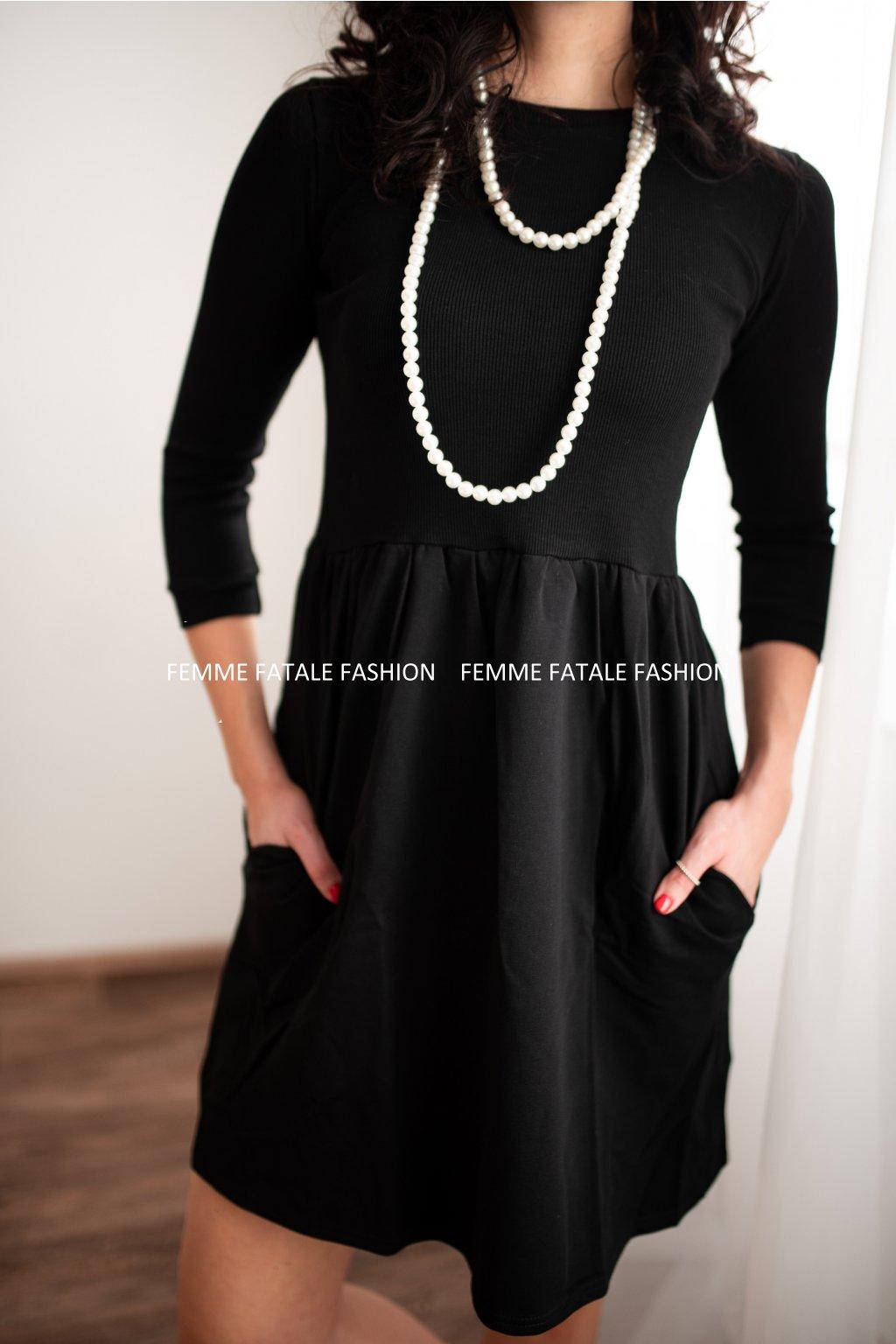 Podzimní dámské šaty NATALY femmefatalefashion (4)
