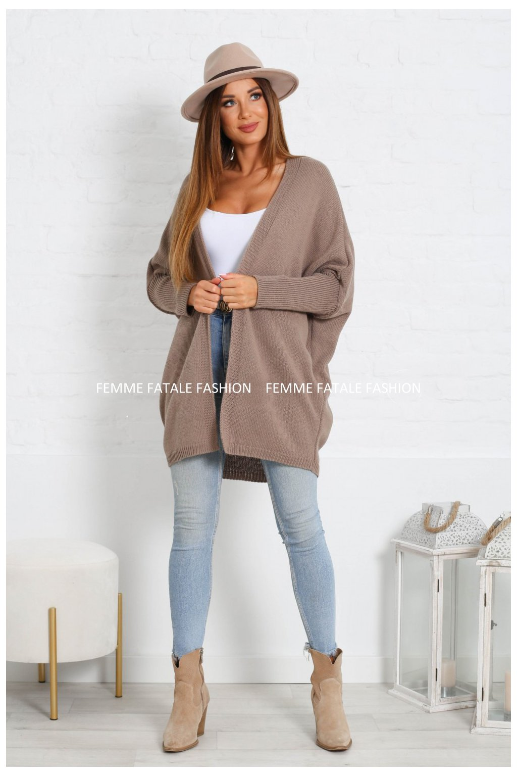 Dámský svetr kardigan VENISE femmefatalefashion (13)