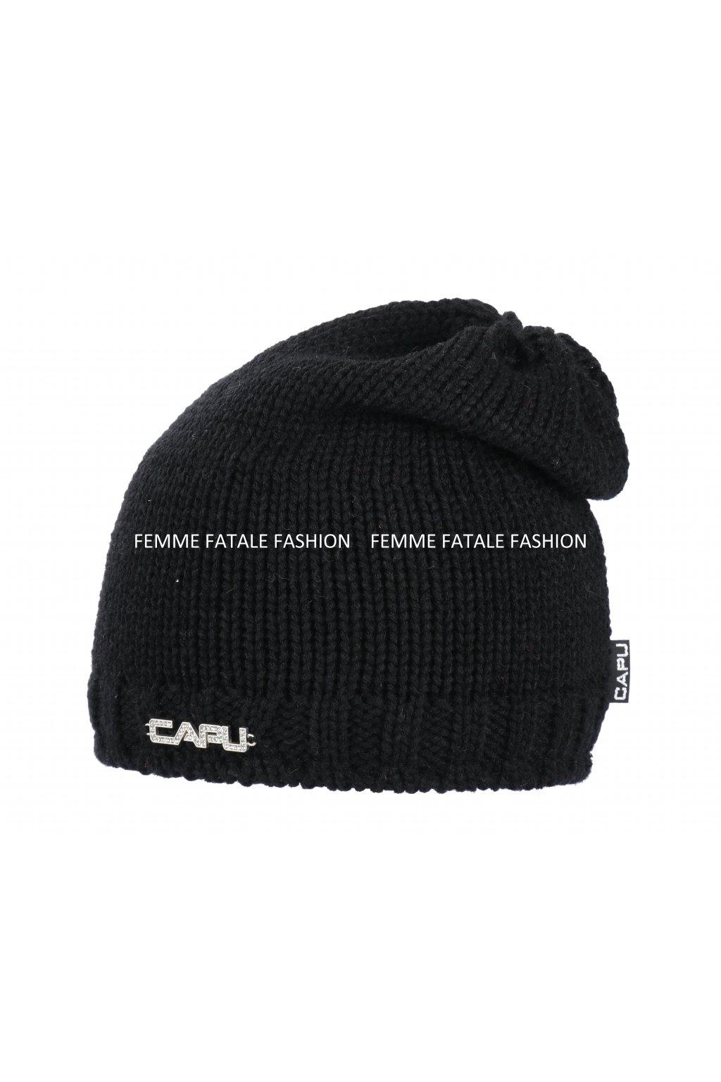 D8mská zimní čepice CAPU 429 femmefatalefashion (6)