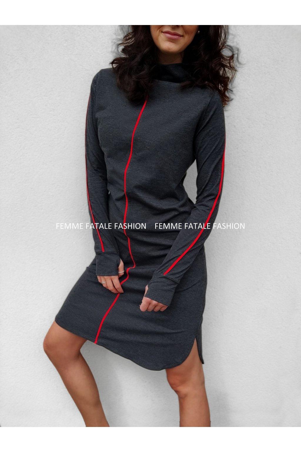 Dámské šaty PETRA femmefatalefashion (4)