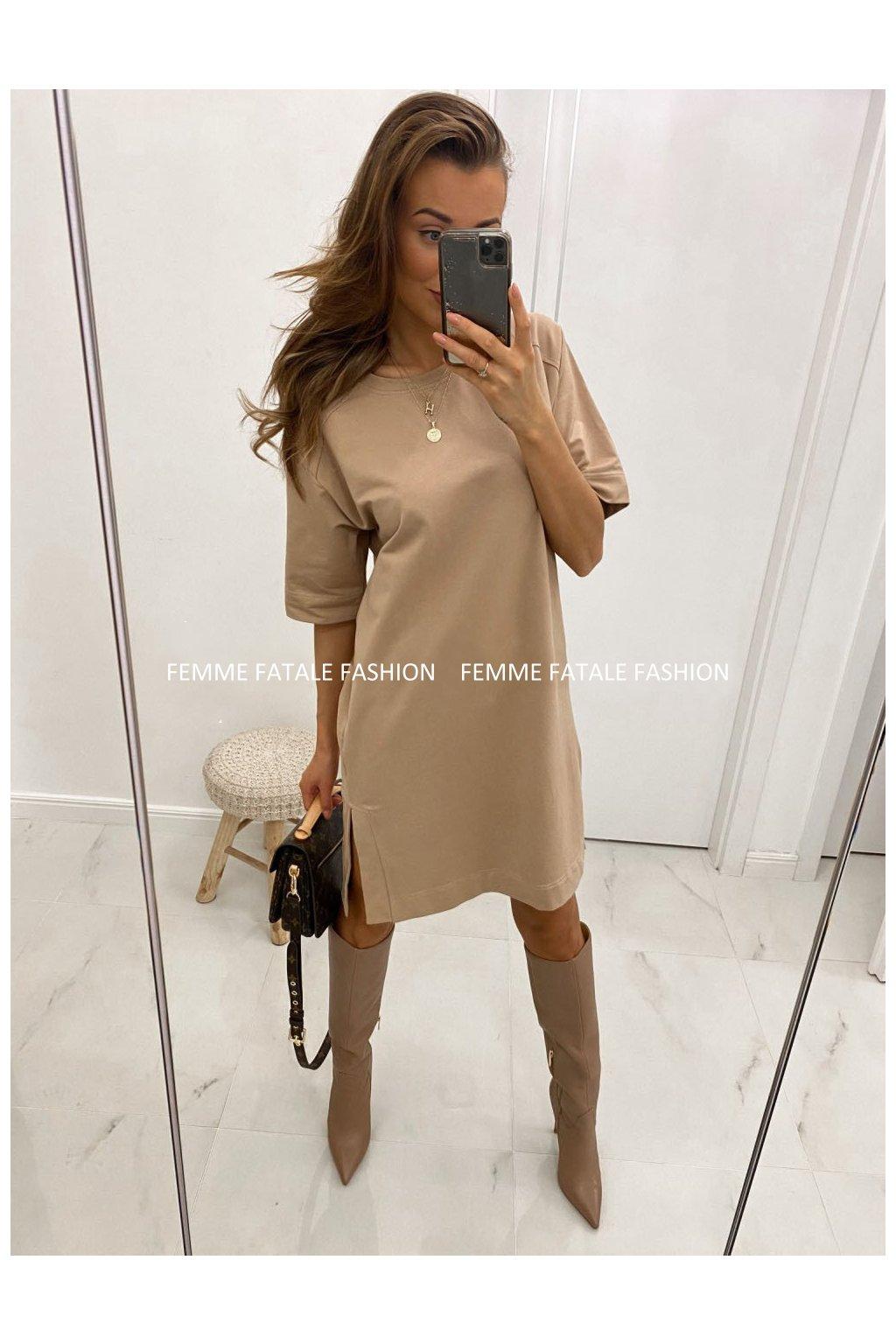 Dámské šaty s rozparky ANIS femmefatalefashion (1)