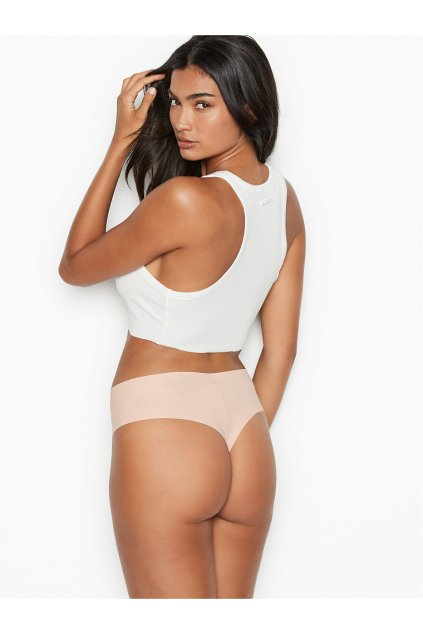 Victoria's Secret bezešvé tanga Raw-cut Midi Thong Panty - femmefatalefashion.cz