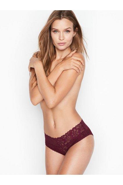 Victoria's Secret Bezešvé kalhotky No show Hiphugger Panty Kir