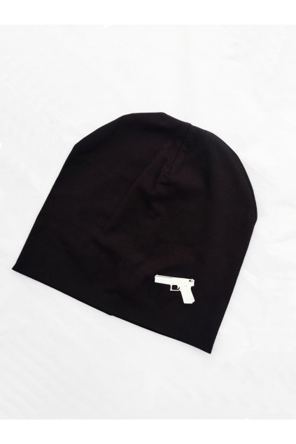 Dámská bavlněná čepice BASIC GUN (1)