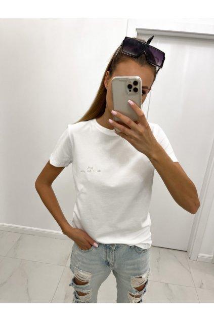 Dámské bavlněné tričko GIRL, DO IT FOR YOU femmefatalefashion (3)