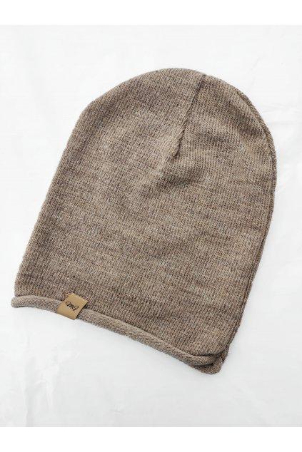Dámská čepice MG s příměsí vlny