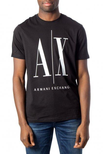 Pánské tričko Armani Exchange černé