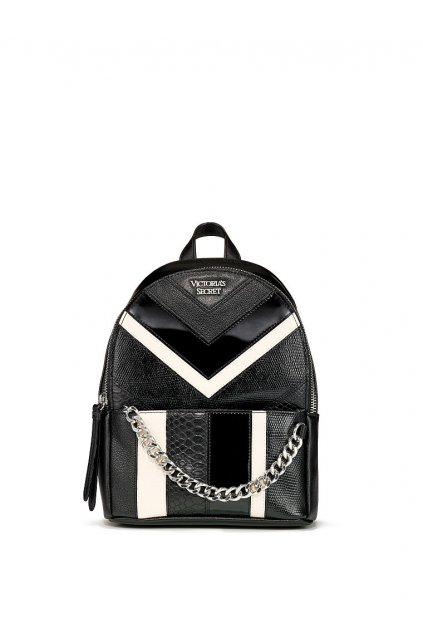Dámský batoh Victoria's Secret Mixed Chevron Small City Backpack