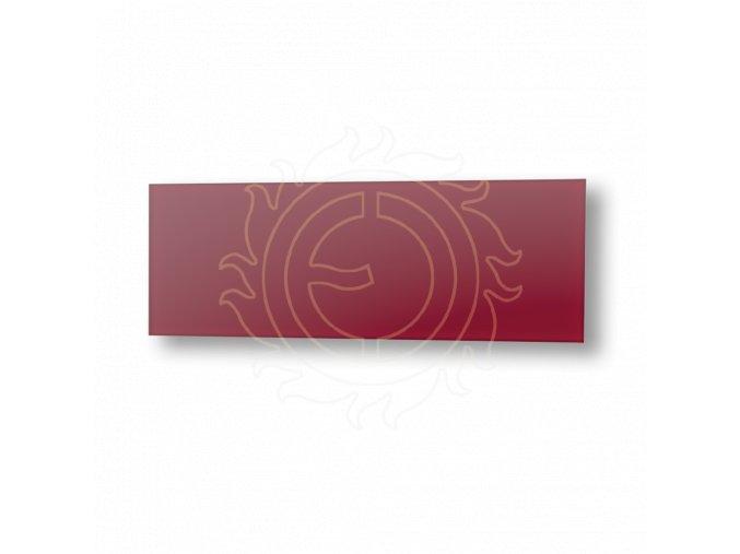 ECOSUN 500 GS Wine Red