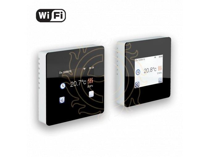 Termostat TFT Wifi (black)