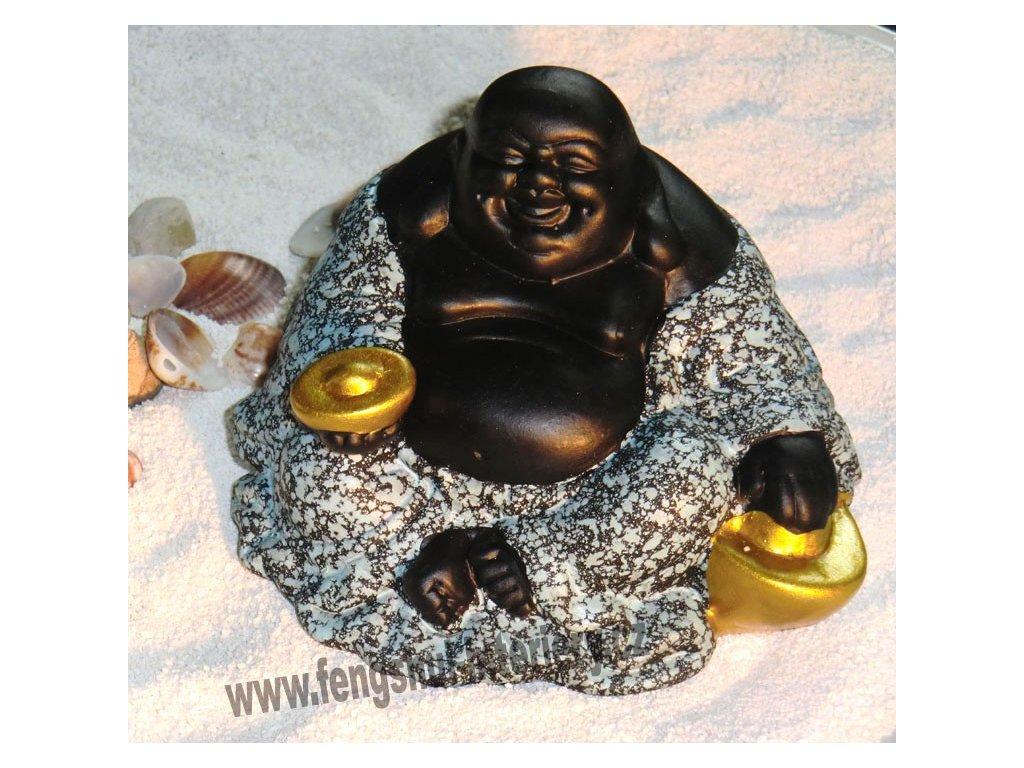 Sedící Buddha s ingotem
