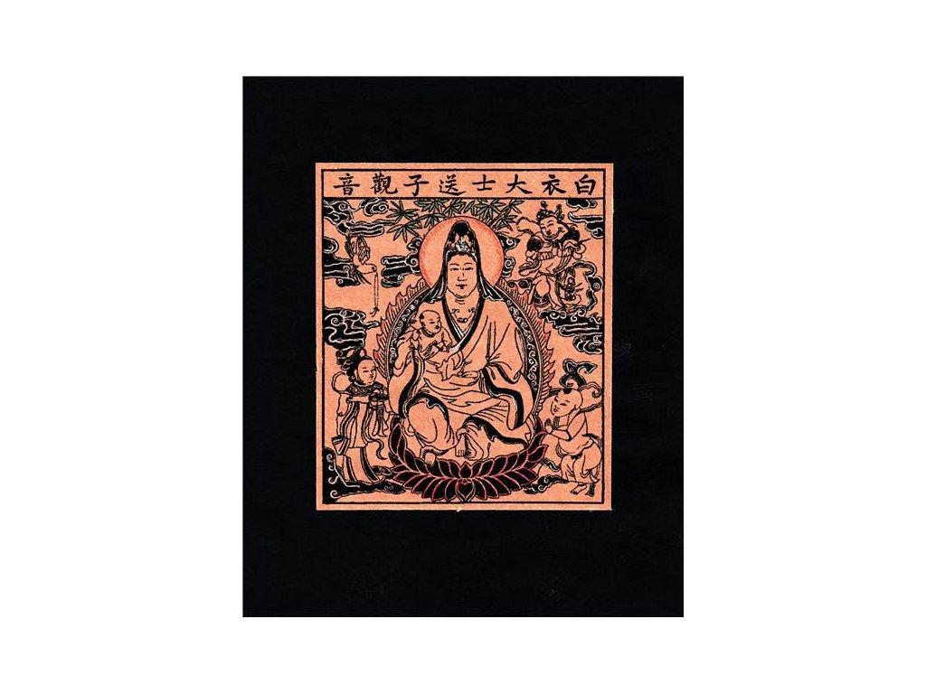 KUAN - YIN nástěnný amulet