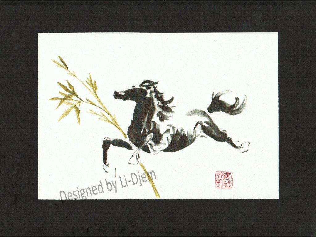 Cválající kůň 1B