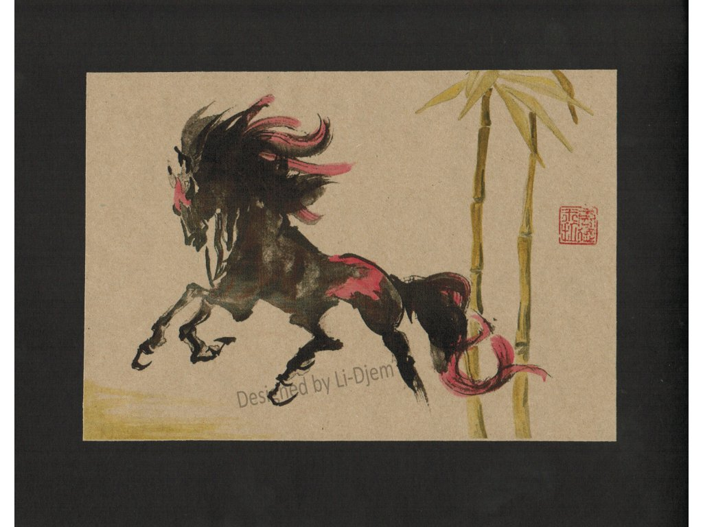 Cválající kůň 2 H