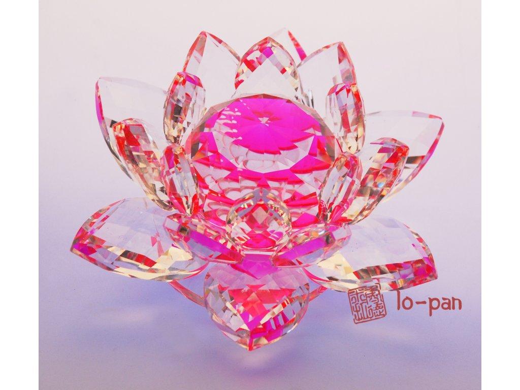 LOTOS křišťálové čistoty růžový