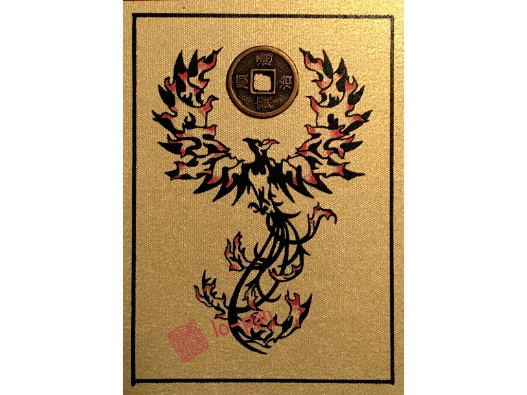 Ohnivy Fenix Zlata Karta Feng Shui Interiery