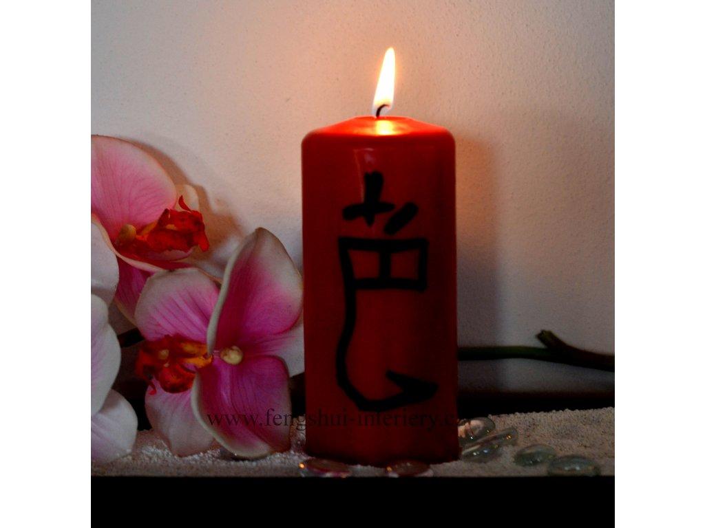 EROTIKA  - kaligrafická svíčka