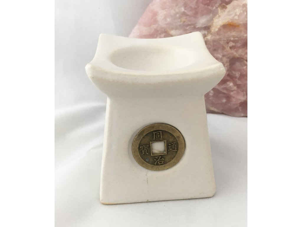 Aromalampa HOJNOST  - bílá