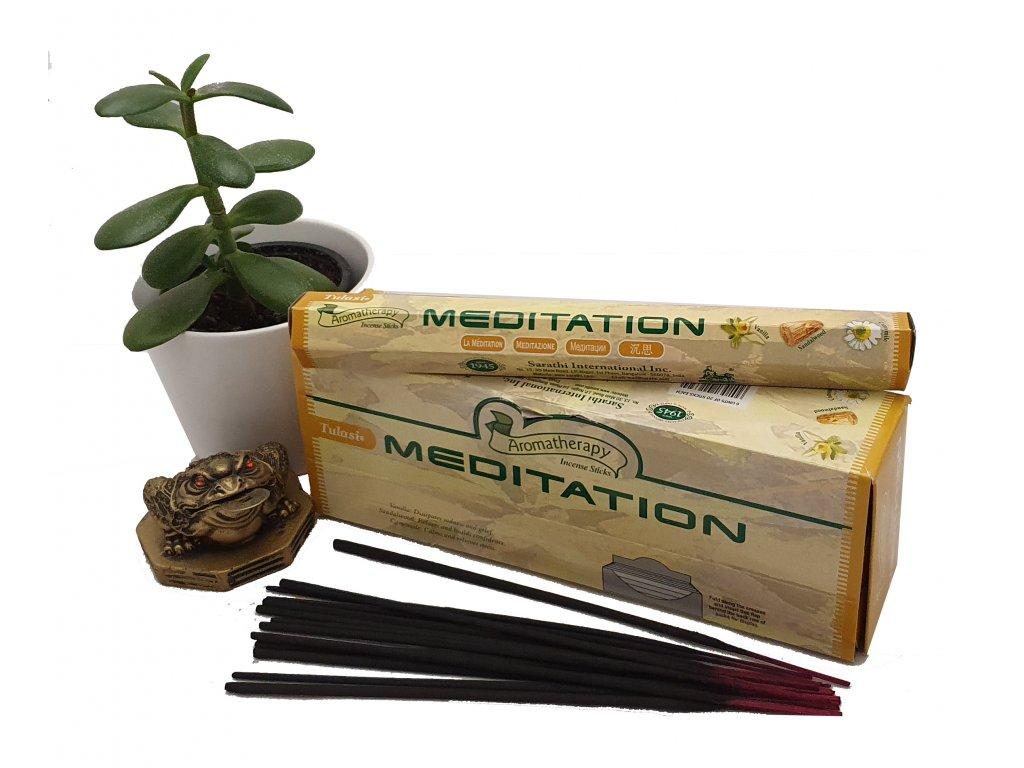 Meditace – vonné tyčinky