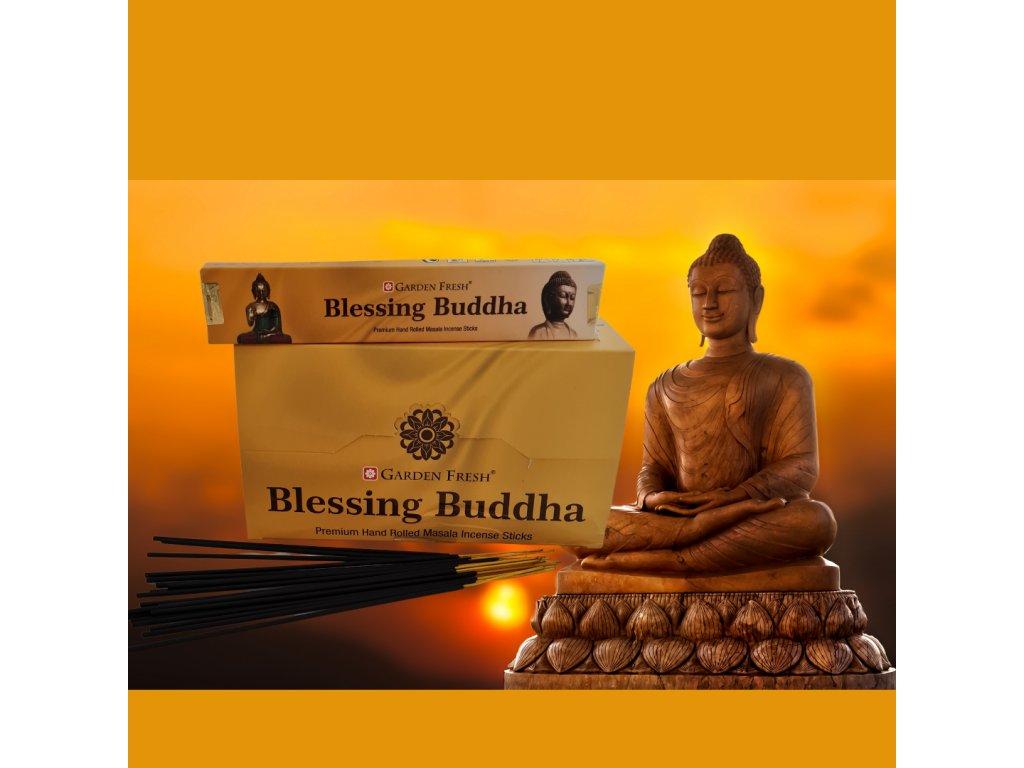 ŽEHNAJÍCÍ BUDDHA – vonné tyčinky