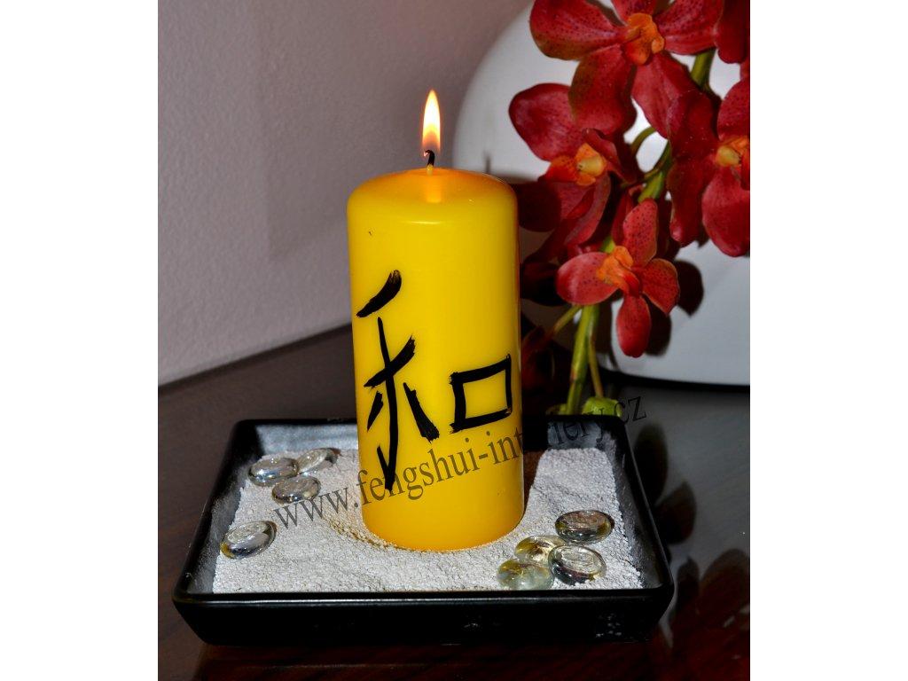 SVORNOST kaligrafická svíčka