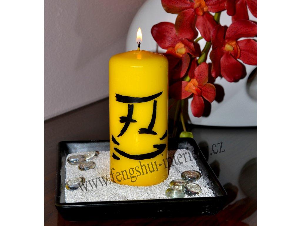 TOLERANCE kaligrafická svíčka