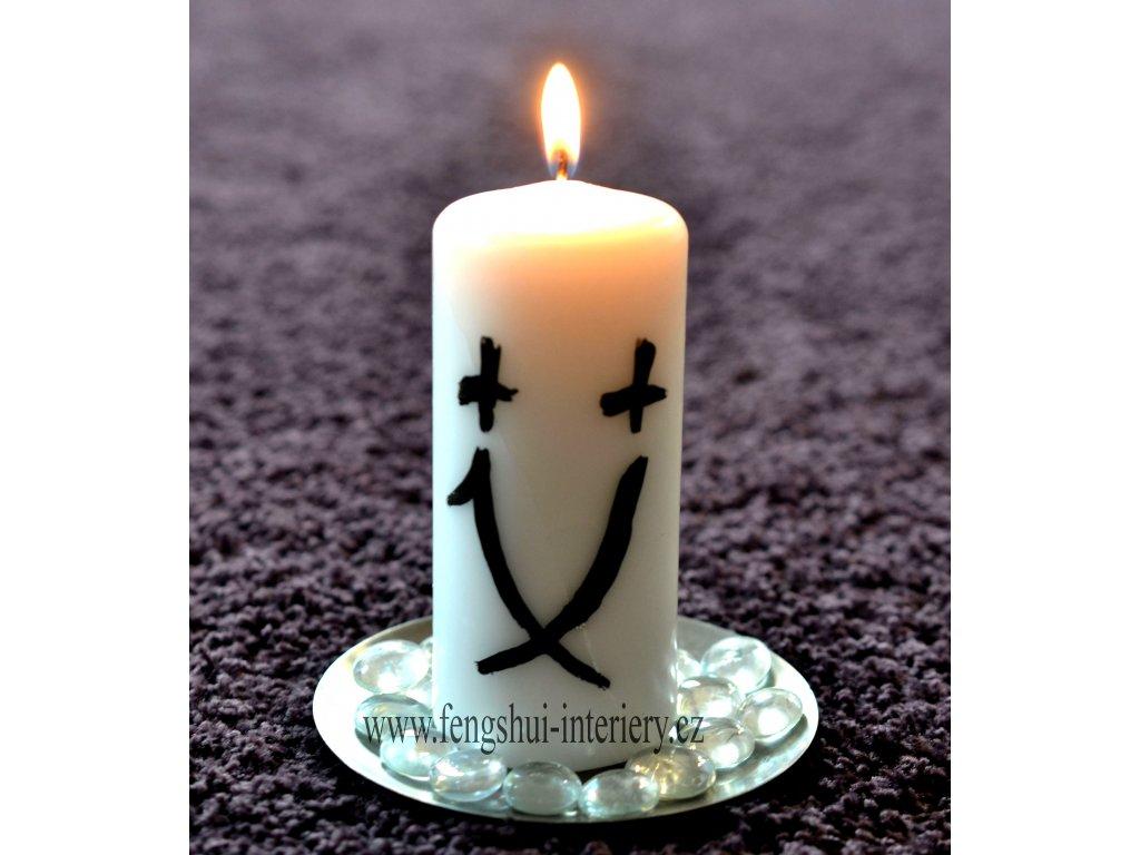 VĚŠTBA kaligrafická svíčka