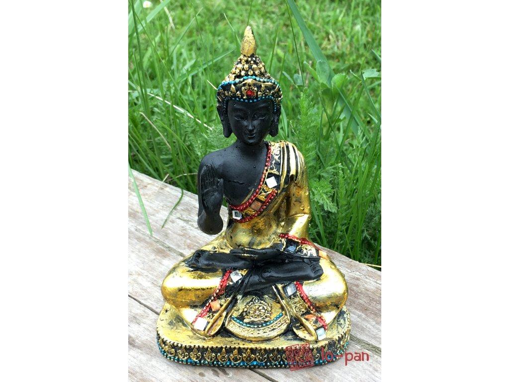 Buddha sedící A