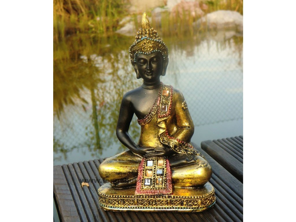 Buddha sedící B