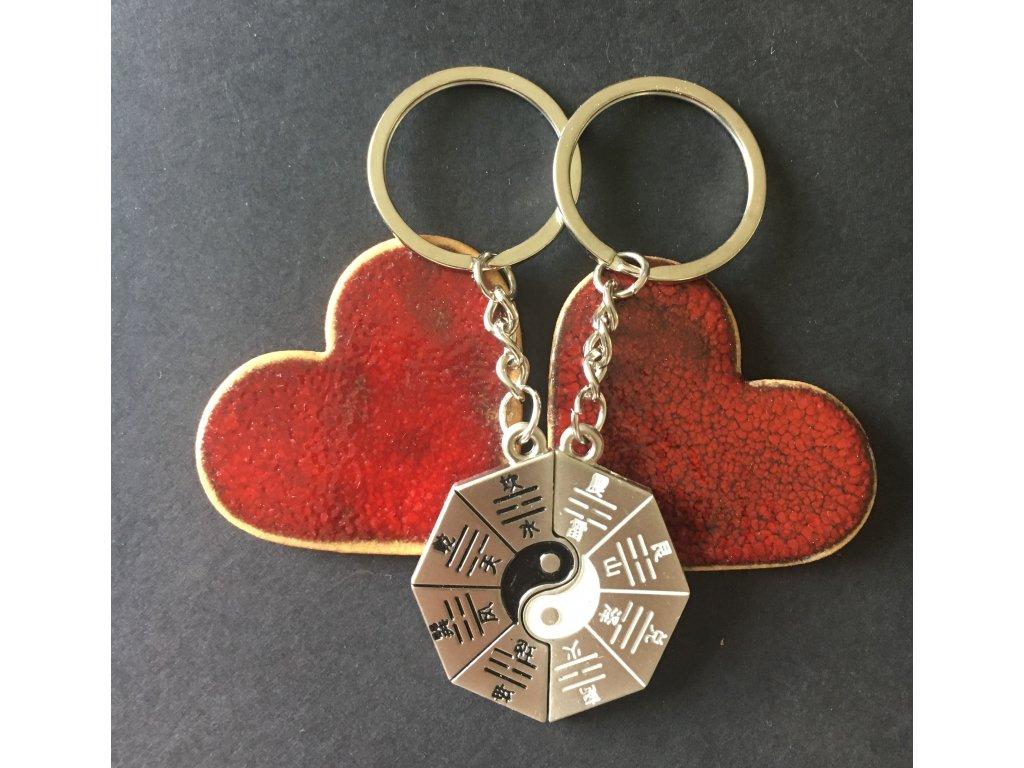 Přívěsek na klíče BA GUA párové