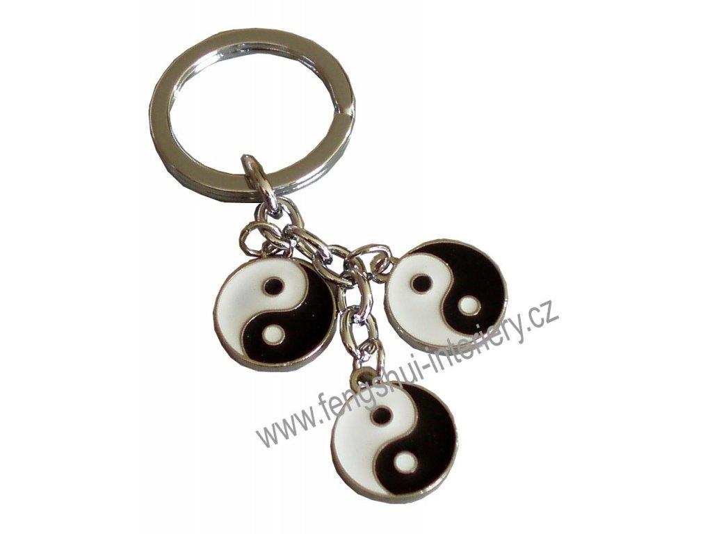 Přívěsek na klíče  JIN-JANG