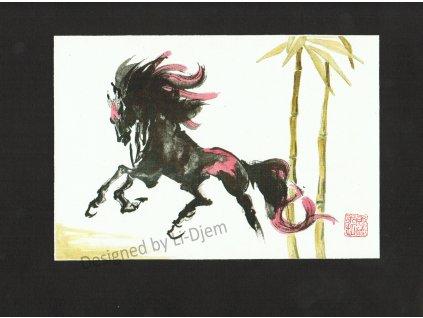 Cválající kůň 2 B