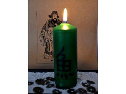 HOJNOST - kaligrafická svíčka