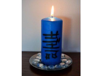 ZDRAVÍ (ŠOU) - kaligrafická svíčka