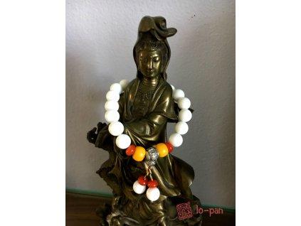 Lotus Sutra  - meditační náramek  (2)