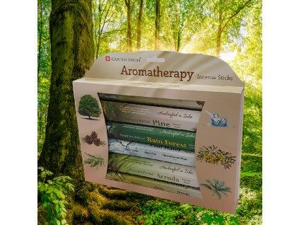 Zelená aromaterapie