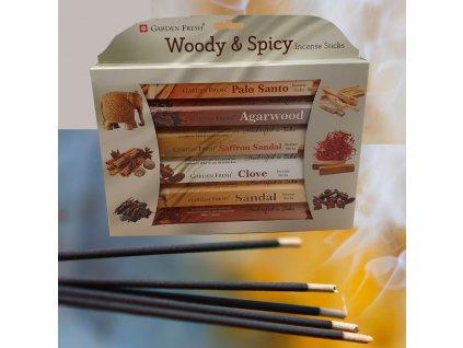 Dřevo a koření