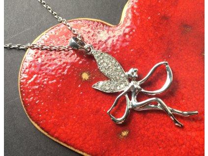 Rozverná víla - náhrdelník